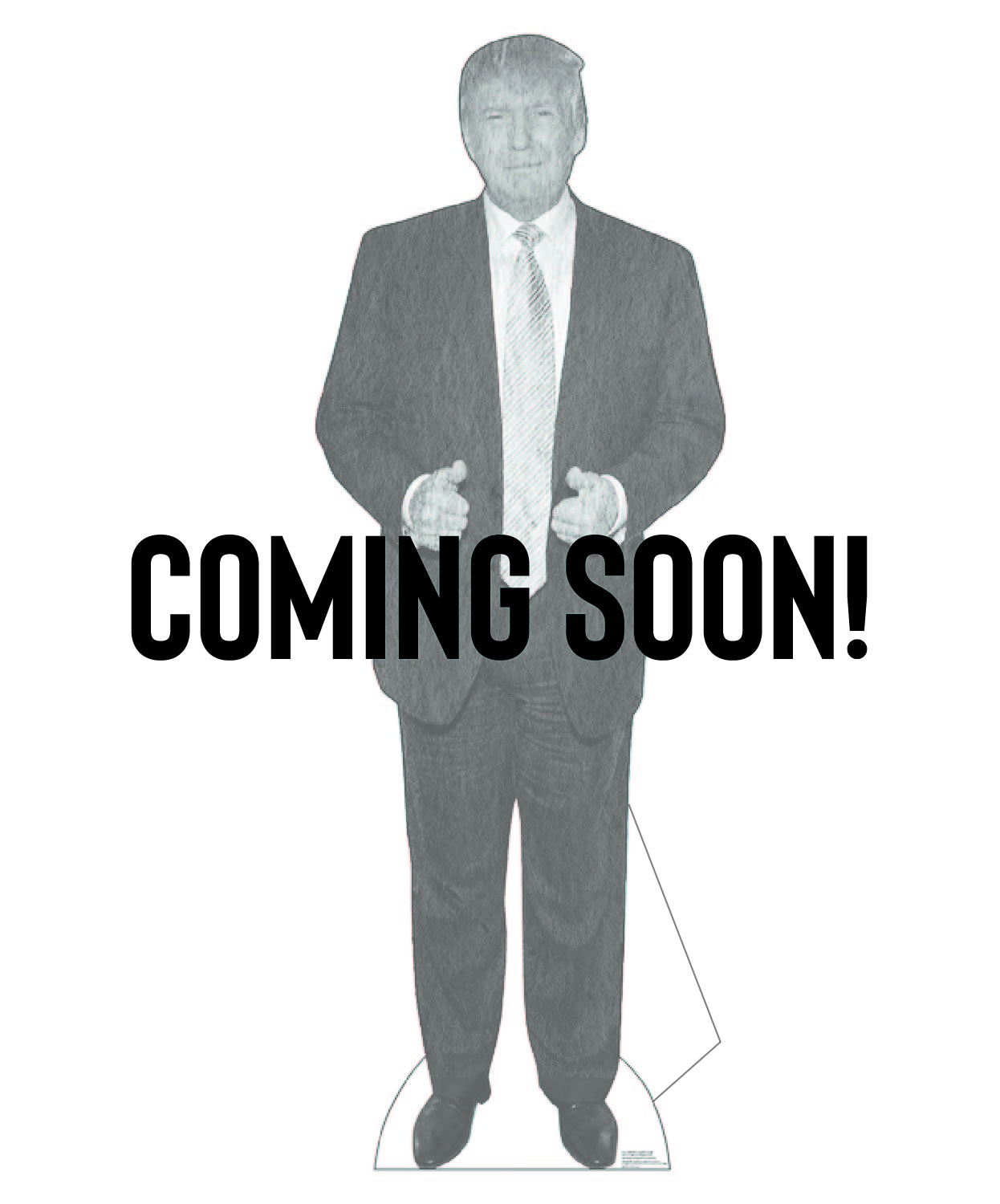 Coming Soon Cardboard Cutouts