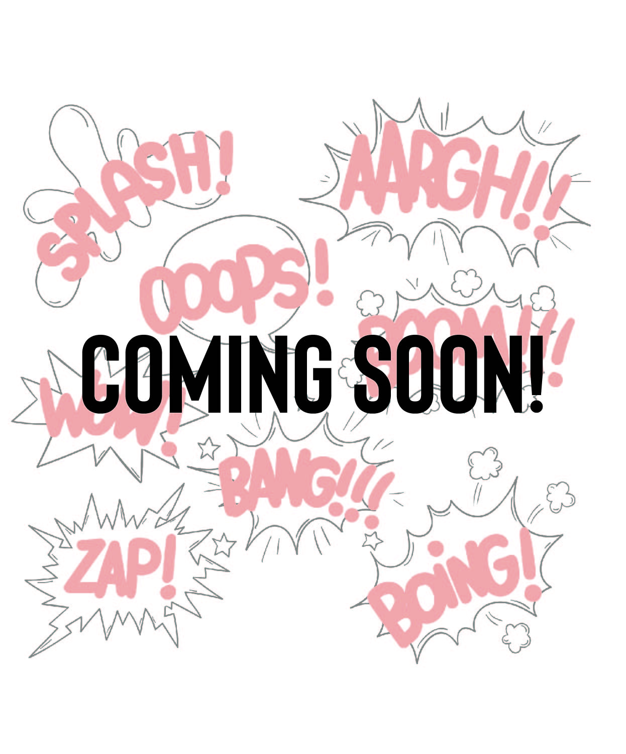 Coming Soon Smash Onomatopoeia's